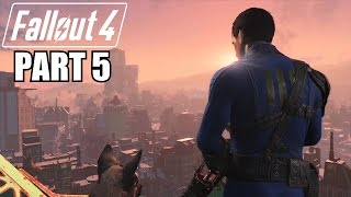 Fallout 4 Gameplay Walkthrough Part 5 - THE FIRST STEP - Xbox One 1080P