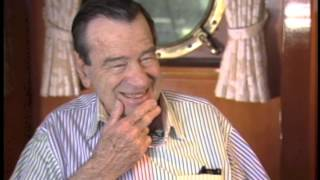 Walter Matthau...with Jimmy Carter Out to Sea