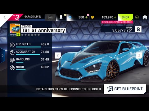 🎮 3 minutes de Gameplay Asphalt 9 Legends sur Nintendo Switch avec la Zenvo TS1 ! (Gamescom 2019)