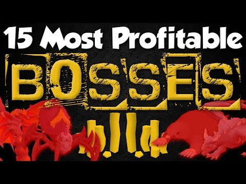 15 MOST Profitable BOSSES To Make Money In OSRS