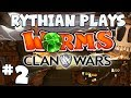 Worms Clan Wars feat. Hannah, Kim and Ravs! - Last Worm Standing