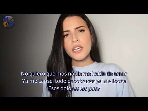 Zhamira Zambrano - Amorfoda  (Bad Bunny) Video Con Letra