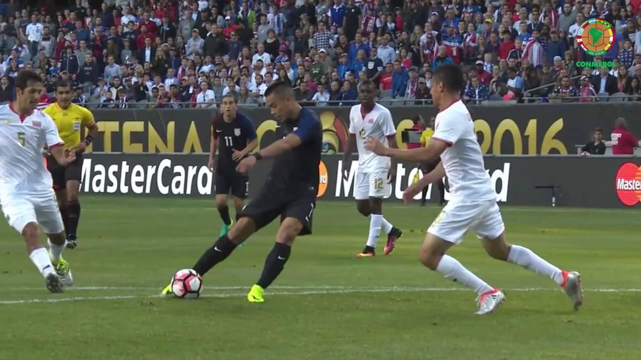 Estados Unidos 4 vs Costa Rica 0 (Resumen) - YouTube