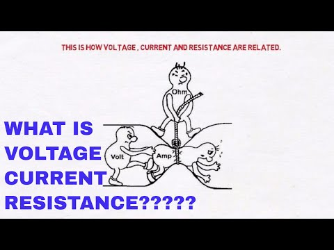 What is voltage? || What is current? || What is resistance?