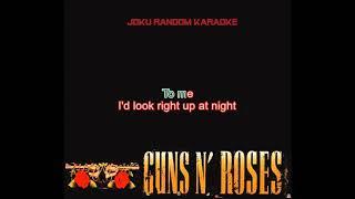 Guns N' Roses - So Fine [Karaoke]