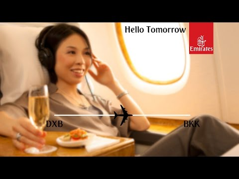 Flight Report: Emirates EK384 Dubai to Bangkok Business Class