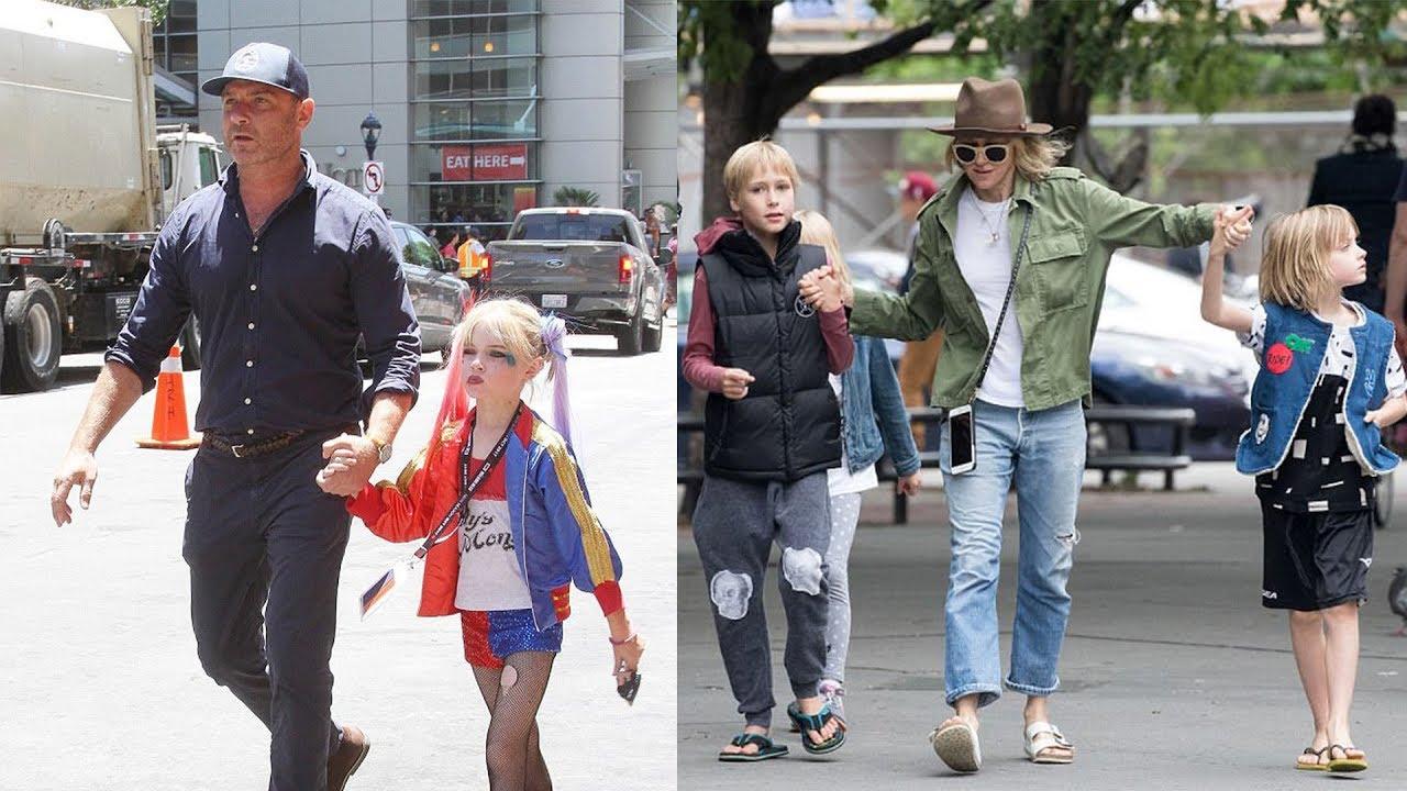 Liev Schreiber & Naomi Watts' Kids | Sons { Samuel ...
