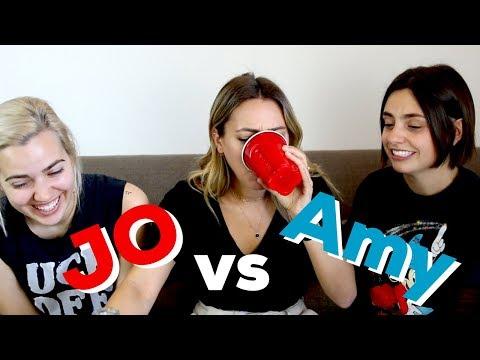 AMY VS. JO BEST FRIEND SHOWDOWN!!!