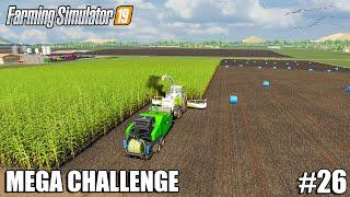 I CREATED THE BEST CLAAS SILAGE_BALER COMBO  MEGA Challenge   Farming Simulator 19   Episode 26