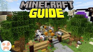 Automatic Pumpkin Garden Farm! | Minecraft Guide Episode 23 (Minecraft 1.15.2 Lets Play)