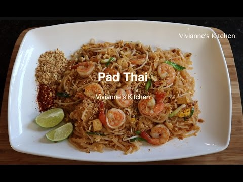 How To Make Shrimp Pad Thai By Viviannes Kitchen