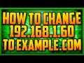 How To Setup Domain Names For Your Minecraft/Voice Server