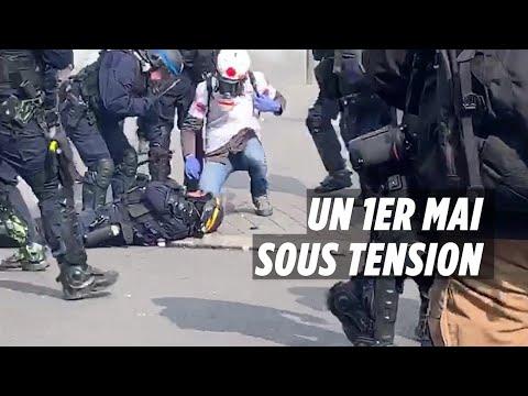 Policier blessé et