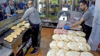 Italy Street Food. Ham and Cheese Flat Bread. 'Spianata Bolognese'