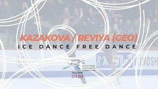 Kazakova Reviya Ice Dance Free ISU World Junior Figure Skating Championships WorldJFigure