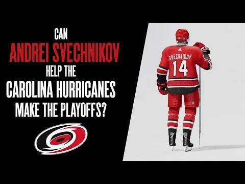 Can Andrei Svechnikov Help The Carolina Hurricanes Make The Playoffs? | NHL 18 Franchise Mode