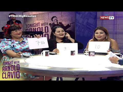 Tonight with Arnold Clavio: Plus sized beauties, sumabak sa 'Guess the Weight' challenge