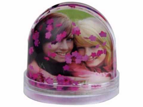 Bolas de nieve personalizadas con fotos youtube - Bolas de cristal personalizadas ...