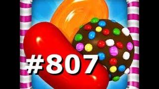Candy Crush Saga - Level 807 - 3 Stars - No boosters