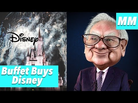 MOONSHOT MONDAY Buffett Buys Disney