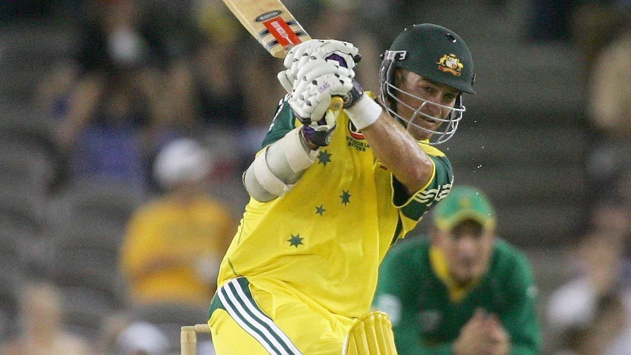 From the Vault: Jaques just falls short of ton on ODI debut - YouTube