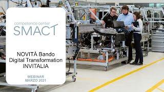 SMACT | Bando Digital Transformation INVITALIA