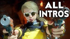 MORTAL KOMBAT 11 Cassie Cage All Intros Dialogue Character Banter MK11