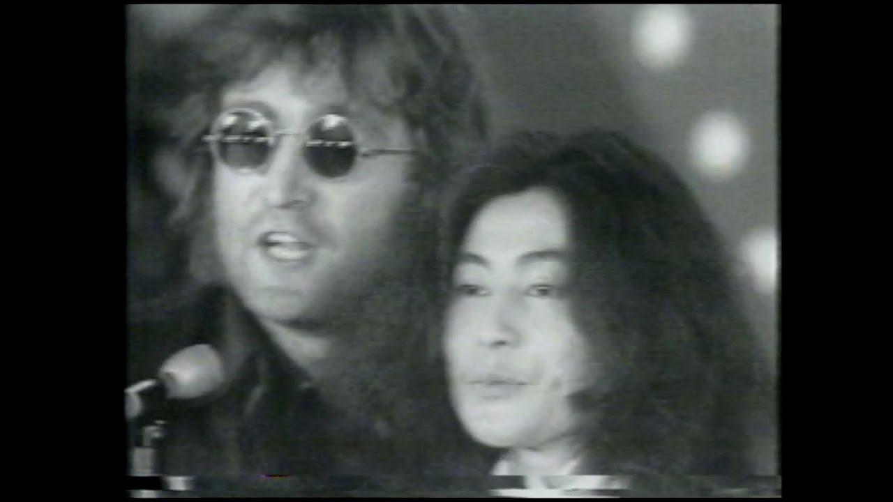John Lennon Yoko Ono On The Jerry Lewis Telethon September 4 1972