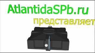 видео Качество пластиковых баков для душа производства компании АтлантидаСПб