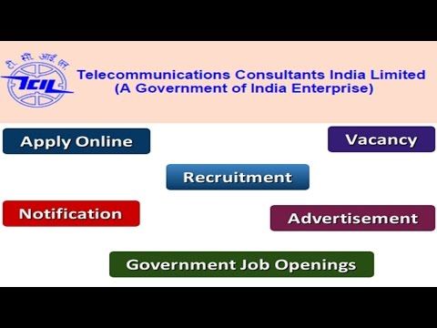 Telecommunications Consultants India Limited Recruitment Apply Online Notifications Careers Vacancy