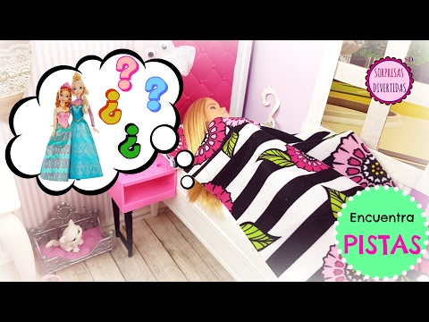 #2 SUEÑO DE EMMA con Frozen Elsa y Ana ⭐ EN BUSCA DEL HADA AZUL⭐ Vídeo con pistas