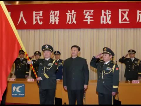 China sets up new military regions