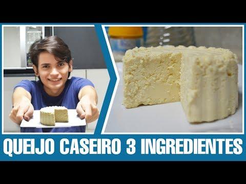 Como Fazer - Queijo Caseiro 3 ingredientes