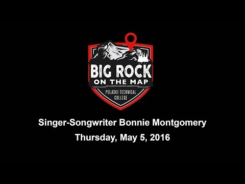 Singer-Songwriter Bonnie Montgomery performs at Pulaski Technical College