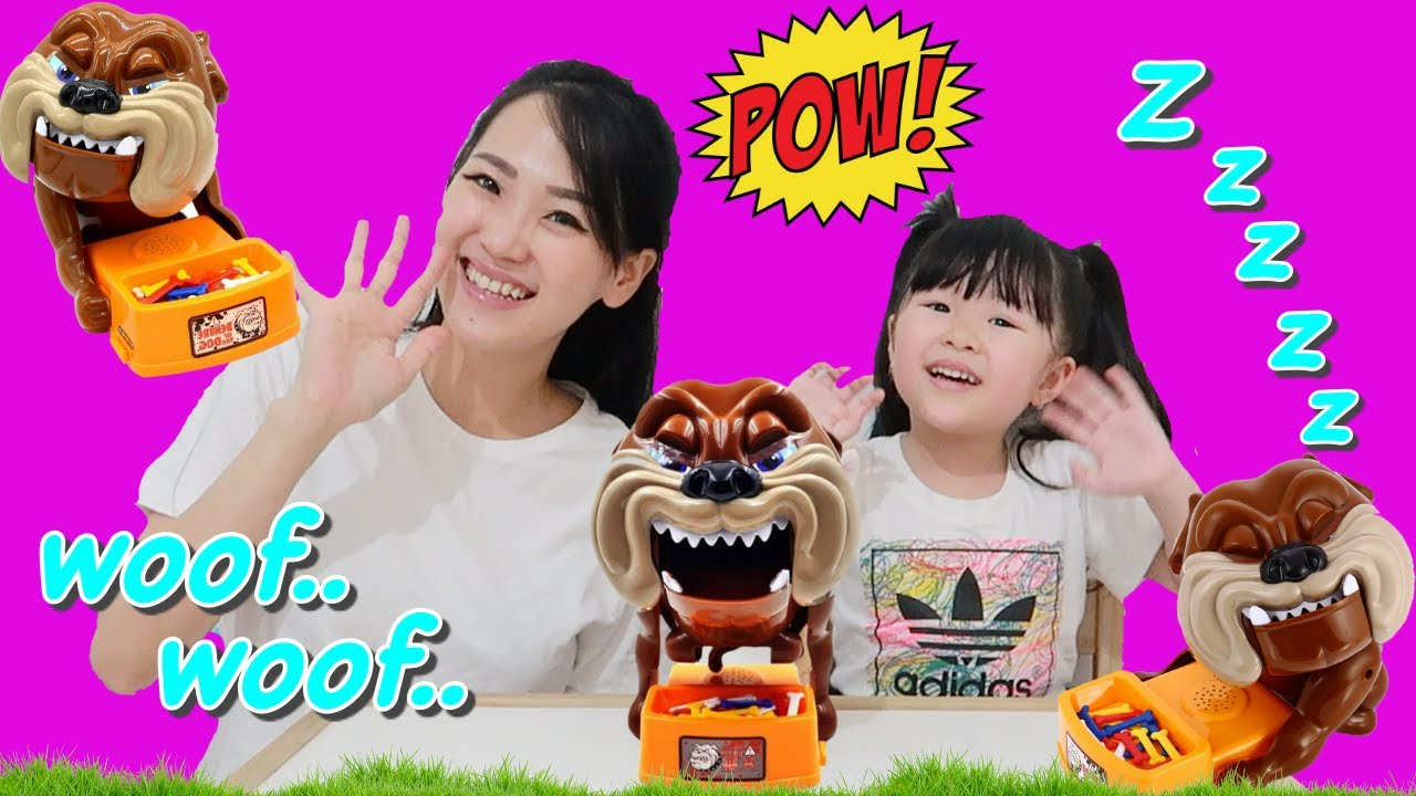 Surprise Toy Beware of the Dog Family Fun Game for Kids