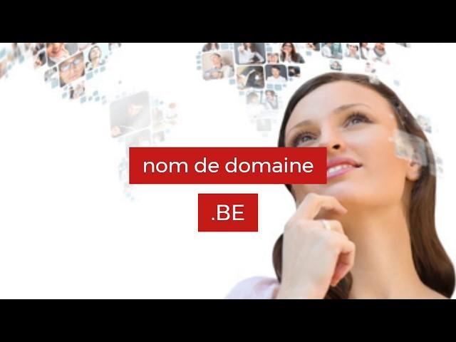 Achat d'un nom domaine BE (Belgique)
