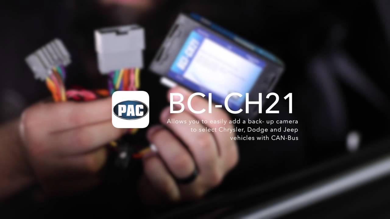 Backup Camera/Navigation Unlock Interface - PAC