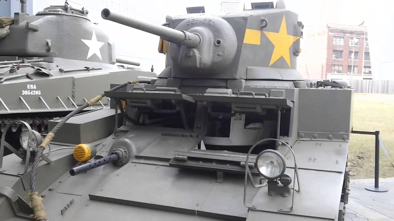 MA Stuart Tank National World War II Museum New Orleans USA - World war ii museums in usa