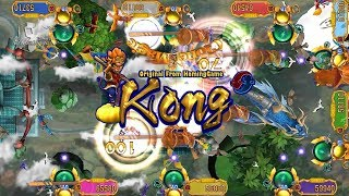 2016 Fishing Gambling Game Machine:100% English Version Fire Kylin Plus Fishing Game Machine