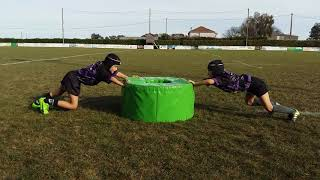 Rugby Donuts position poussee