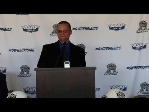 SWOSU Introduces Head Football Coach Chet Pobolish
