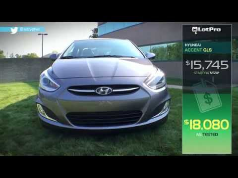 2015 Hyundai Accent GLS Review LotPro
