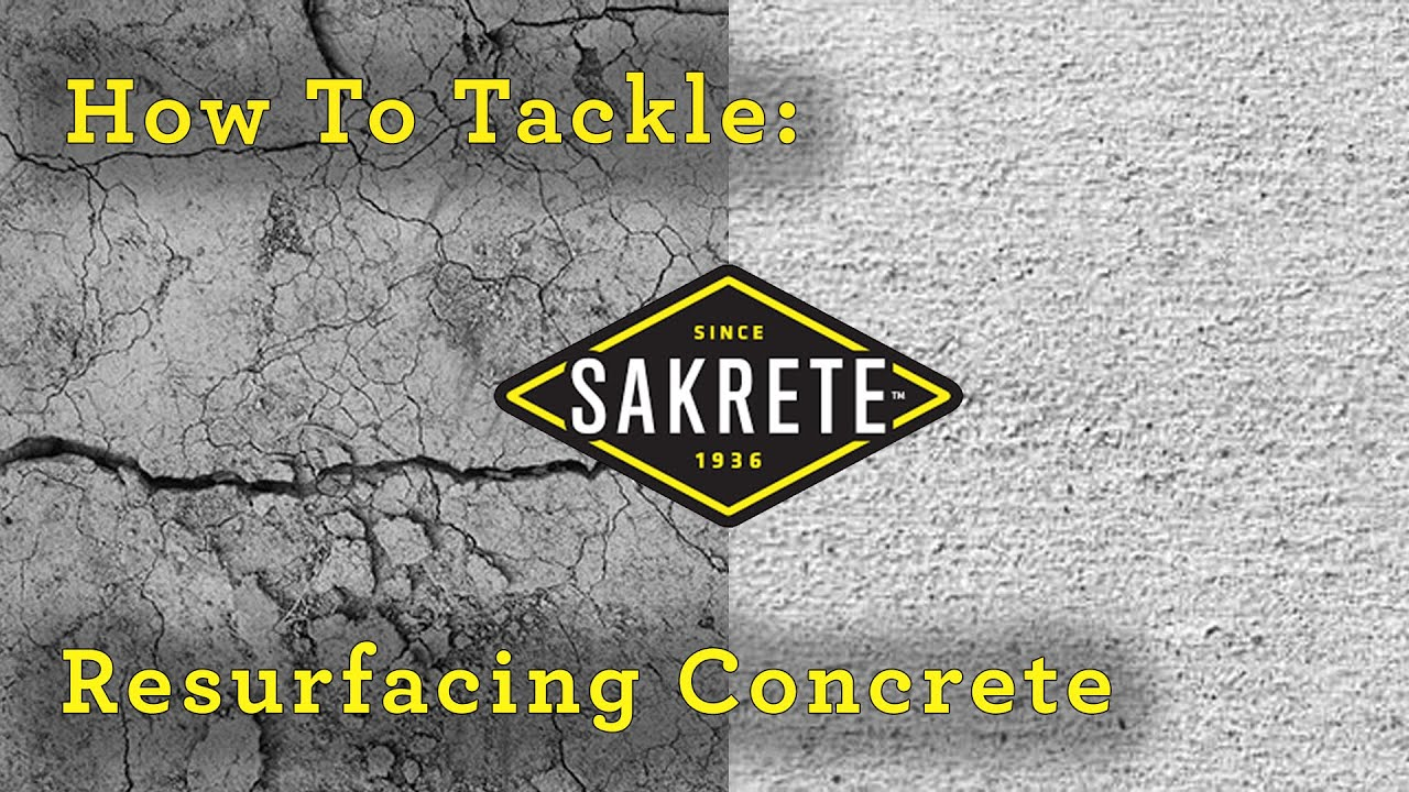 How to Tackle: Resurfacing Concrete Patio with Sakrete FloCoat