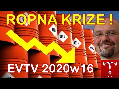 #166 Ropná krize na dosah! 2020w16 | EVTV | Teslacek