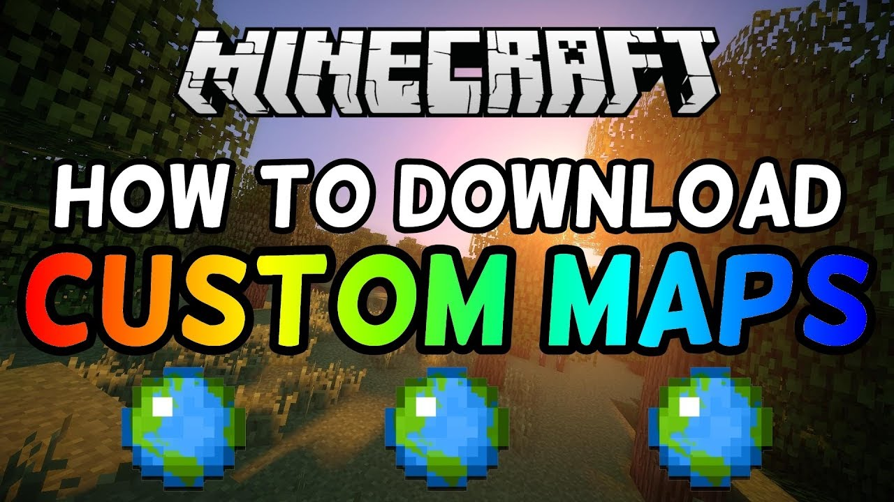How To Download Custom Maps in Minecraft 1 13! (2019)