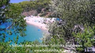 Naturist beach   Aretes
