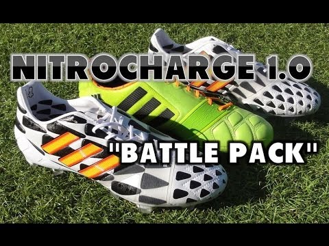 cheap for discount a81bb 6e5c9 How adidas Modified the Battle Pack Nitrocharge 1.0!   Soccer Cleats 101