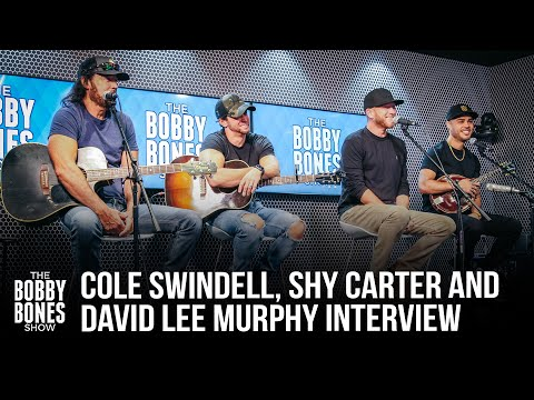 """Shy Carter, Cole Swindell, And David Lee Murphy Talk About Their Collab """"Beer With My Friends"""""""