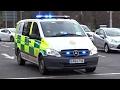 Specialist Paramedic Unit - Mercedes Vito Responding