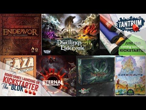 Board Games 2020.June 2019 2nd Half Upcoming Board Games Kickstarter